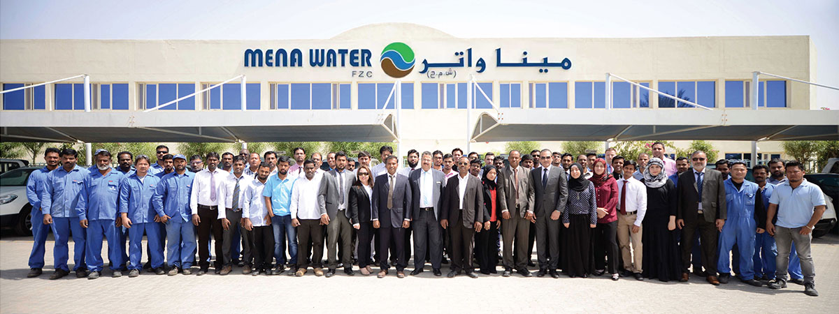 MENA-Water Staff at Sharjah